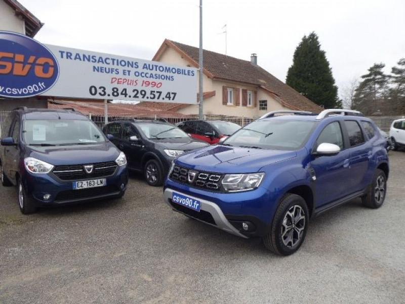 Dacia DUSTER 4X4 1.5 BLUE DCI 115CH PRESTIGE 4X4 E6U Diesel BLEU IRON  Neuf à vendre