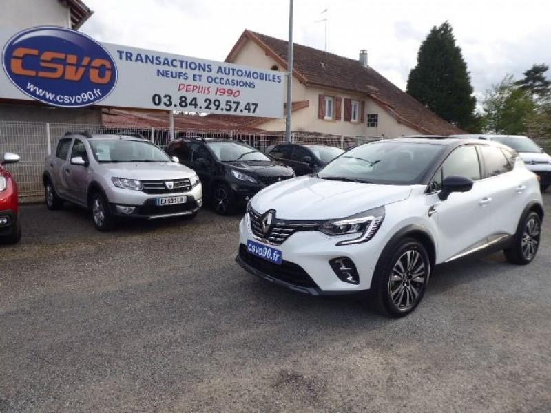Renault CAPTUR II 1.3 TCE 140CH INITIALE PARIS EDC Essence BLANC NACRE T/N Neuf à vendre