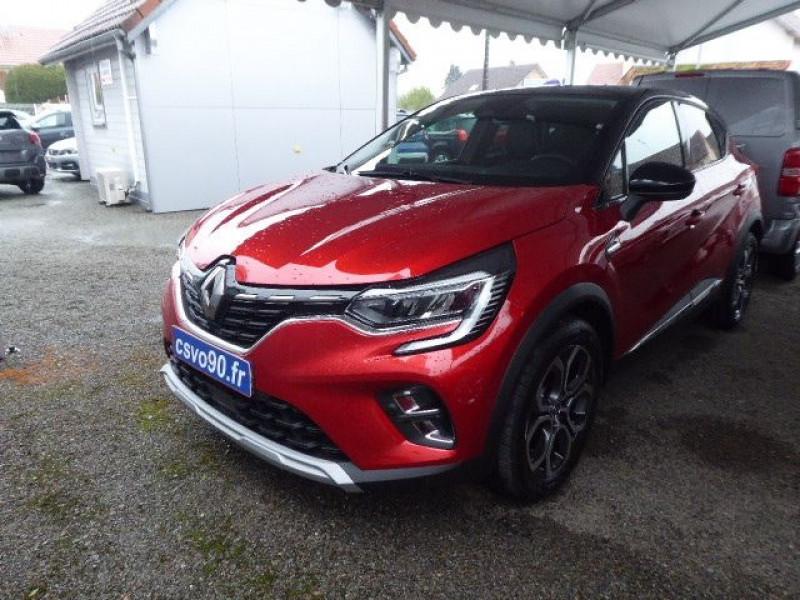 Renault CAPTUR II 1.0 TCE 100CH INTENS - 20 ESSENCE / ÉTHANOL ROUGE METAL T/N Occasion à vendre
