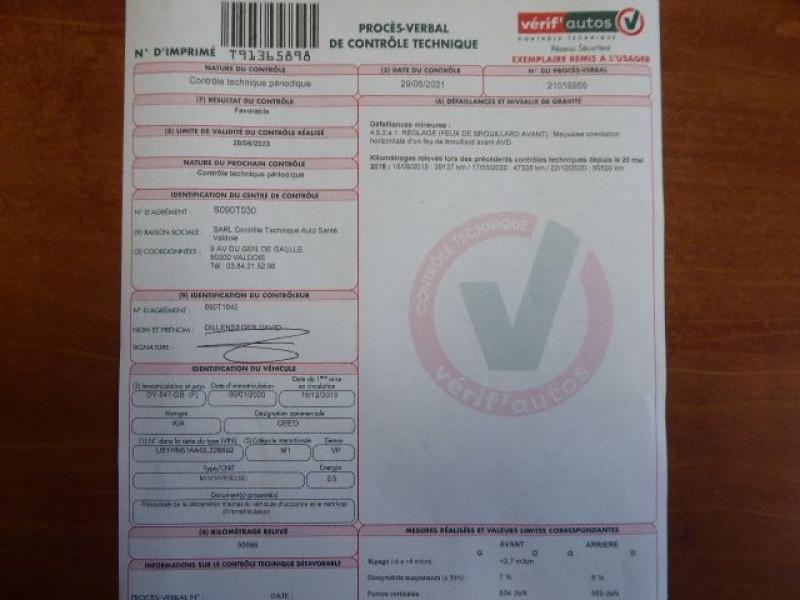Photo 16 de l'offre de KIA CEE'D 1.0 T-GDI 120CH ISG GT LINE à 11830€ chez CSVO