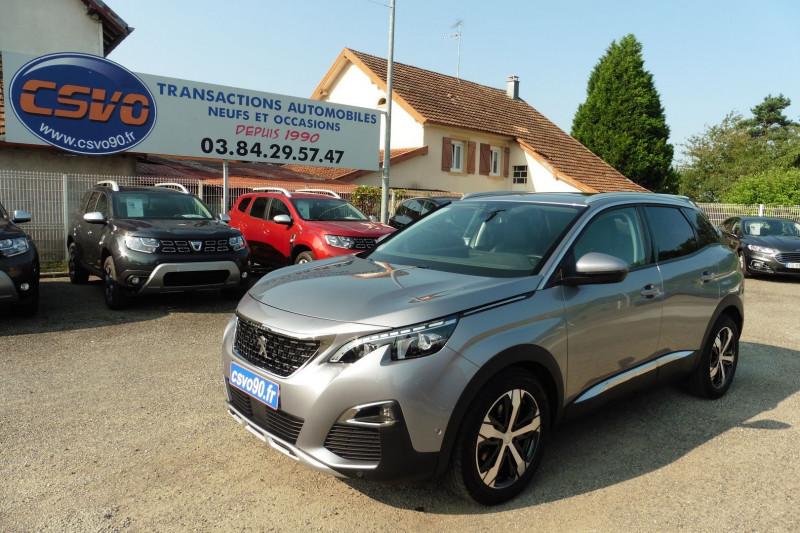 Peugeot 3008 1.6 THP 165CH ALLURE S&S EAT6 Essence GRIS ARTENCE Occasion à vendre