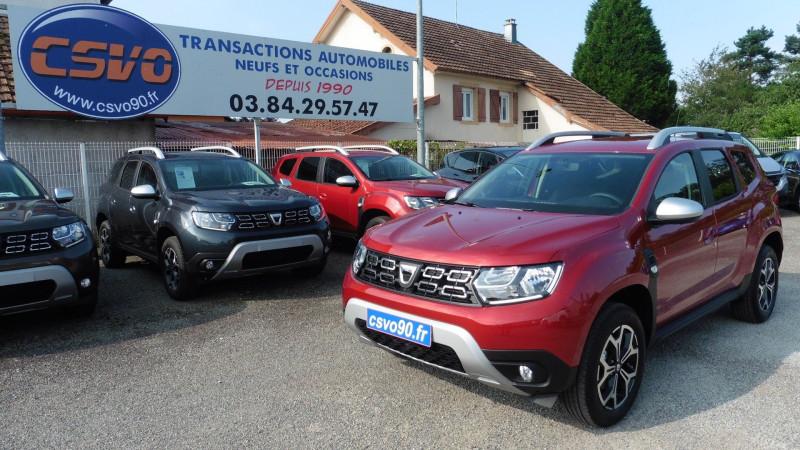 Dacia DUSTER 1.5 BLUE DCI 115CH PRESTIGE 4X4 Diesel ROUGE FUSION Neuf à vendre
