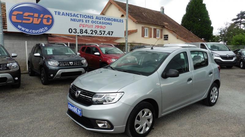 Dacia SANDERO 1.0 SCE 75CH ESSENTIEL - 20 Essence GRIS HIGHAND Occasion à vendre