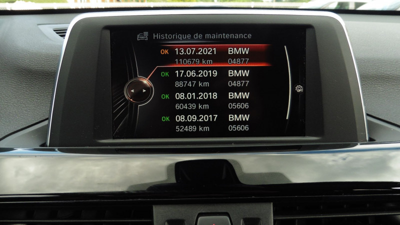 Photo 12 de l'offre de BMW X1 (F48) XDRIVE20DA 190CH SPORT à 22830€ chez CSVO