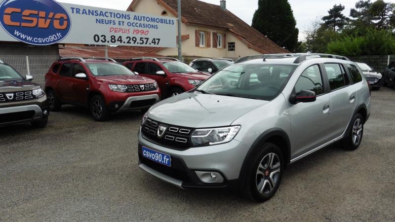 Dacia LOGAN MCV 0.9 TCE 90CH TECHROAD Essence GRIS PLATINE Occasion à vendre