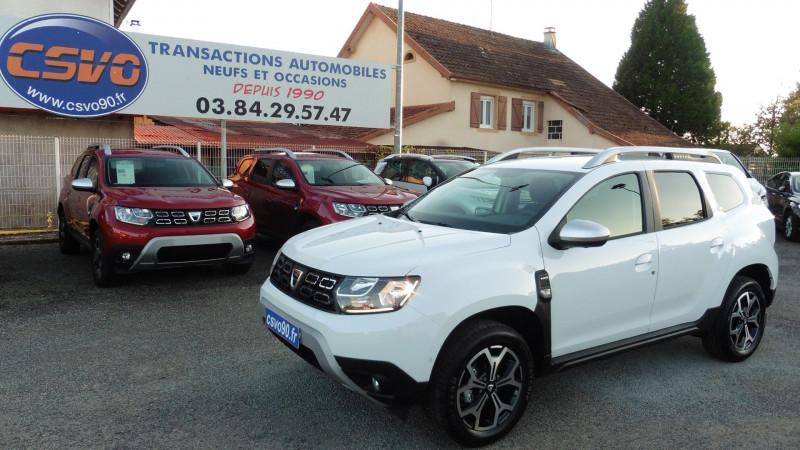 Dacia DUSTER 1.5 BLUE DCI 115CH PRESTIGE 4X4 Diesel BLANC Neuf à vendre