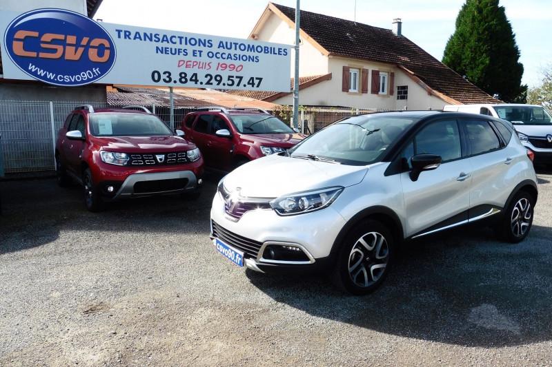 Renault CAPTUR 0.9 TCE 90CH STOP&START ENERGY HYPNOTIC EURO6 114G 2016 Essence GRIS  TOIT NOIR Occasion à vendre
