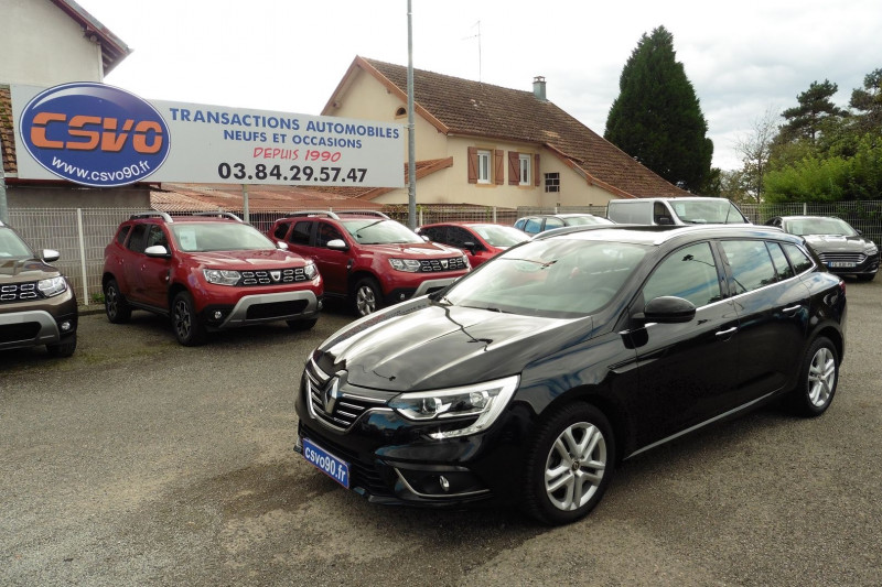 Renault MEGANE IV ESTATE 1.3 TCE 140CH FAP BUSINESS EDC Essence NOIR ETOILE Occasion à vendre