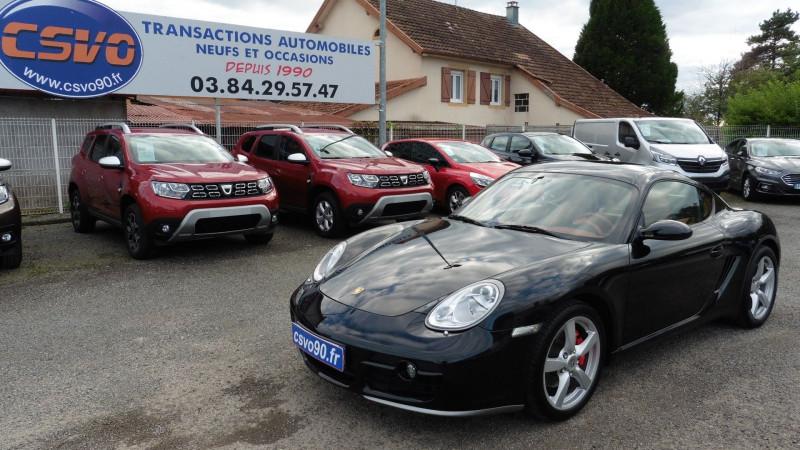 Porsche CAYMAN (987) 3.4 S Essence NOIR METAL Occasion à vendre