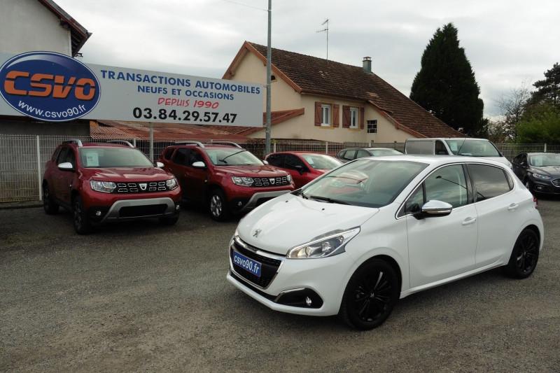 Peugeot 208 1.2 PURETECH 82CH ALLURE 5P Essence BLANCHE Occasion à vendre