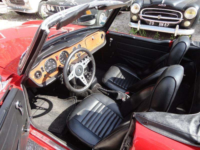 Photo 2 de l'offre de TRIUMPH TR6 CARBU à 21500€ chez TPL AUTO
