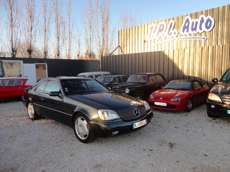 Mercedes-Benz CLASSE S COUPE/CL 500 CL Essence BLEU Occasion à vendre