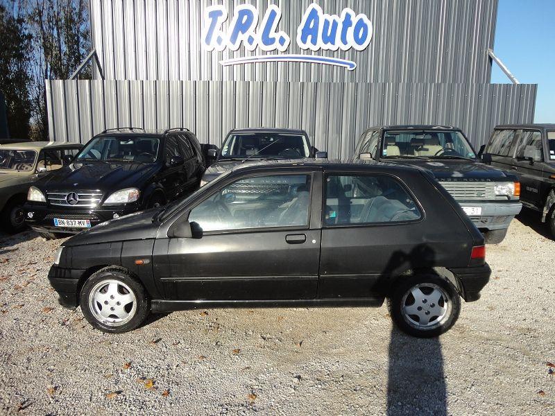Renault CLIO 1.8 110CH RSI 3P Essence NOIR Occasion à vendre