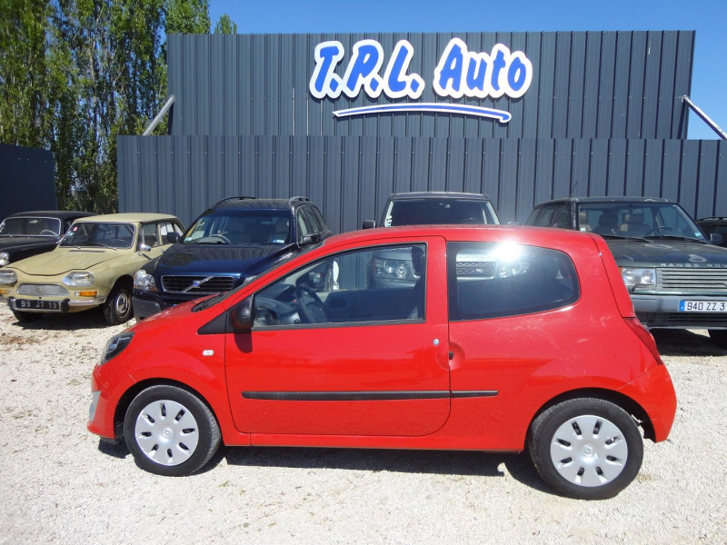 Renault TWINGO 1.2 LEV 16V 75CH AUTHENTIQUE Essence ROUGE Occasion à vendre