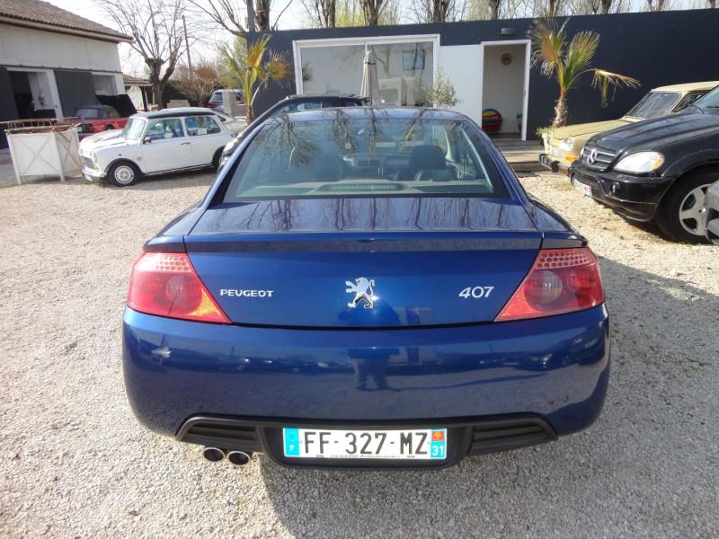 Photo 8 de l'offre de PEUGEOT 407 COUPE 2.7 V6 HDI SPORT PACK BAA FAP à 5500€ chez TPL AUTO