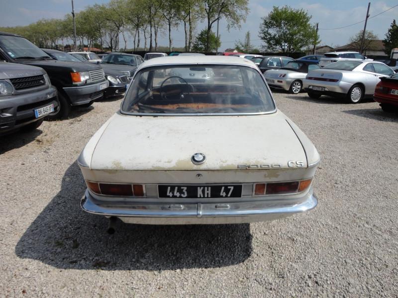 Photo 8 de l'offre de BMW 2000 CS 2000 CS à 10500€ chez TPL AUTO