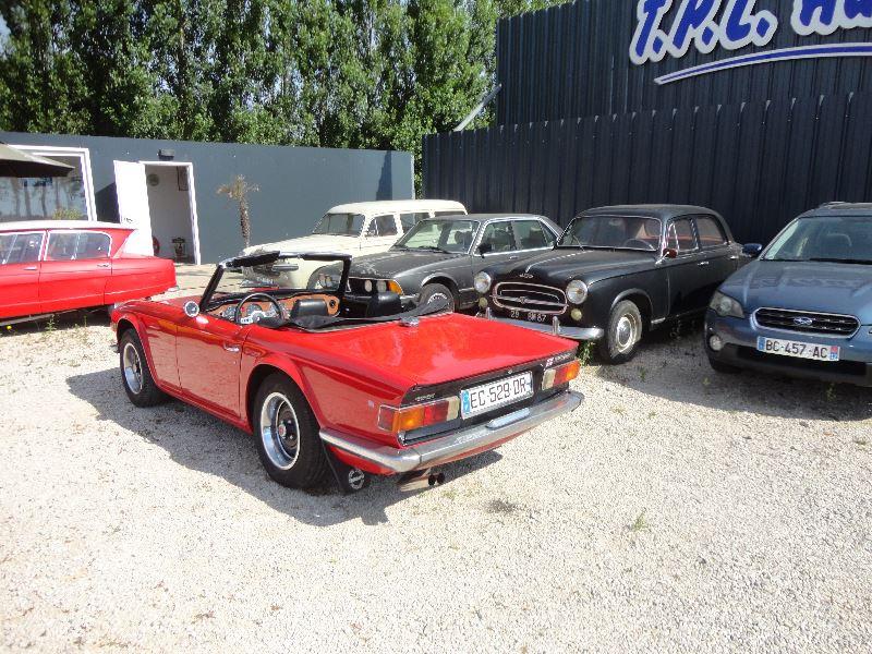 Photo 9 de l'offre de TRIUMPH TR6 CARBU à 21500€ chez TPL AUTO