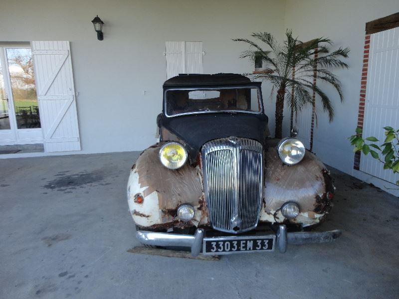 Photo 2 de l'offre de DAIMLER 21/2L CABRIOLET à 14000€ chez TPL AUTO