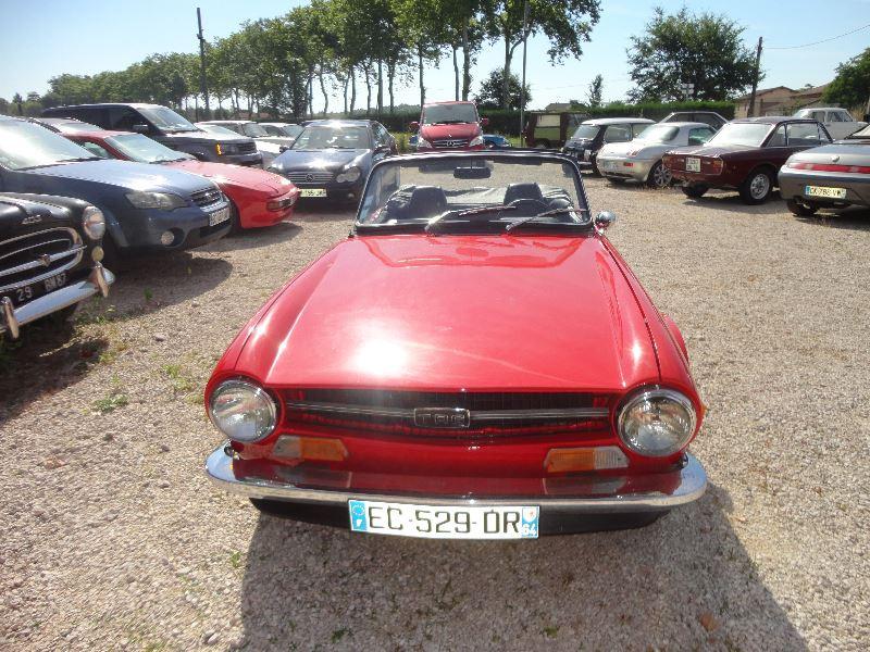 Photo 7 de l'offre de TRIUMPH TR6 CARBU à 21500€ chez TPL AUTO