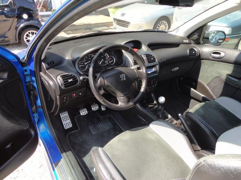 Photo 8 de l'offre de PEUGEOT 206 2.0 16V RC 3P à 12500€ chez TPL AUTO