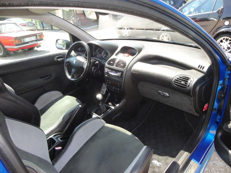 Photo 7 de l'offre de PEUGEOT 206 2.0 16V RC 3P à 12500€ chez TPL AUTO