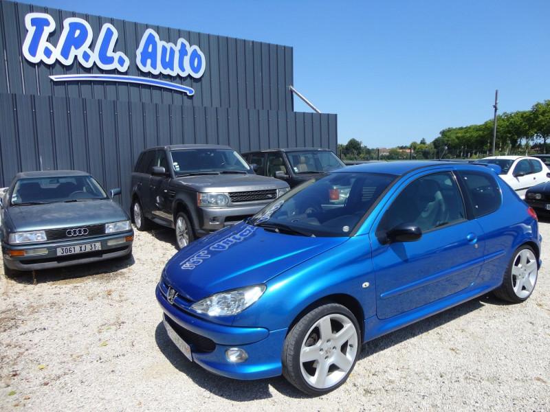 Photo 3 de l'offre de PEUGEOT 206 2.0 16V RC 3P à 12500€ chez TPL AUTO