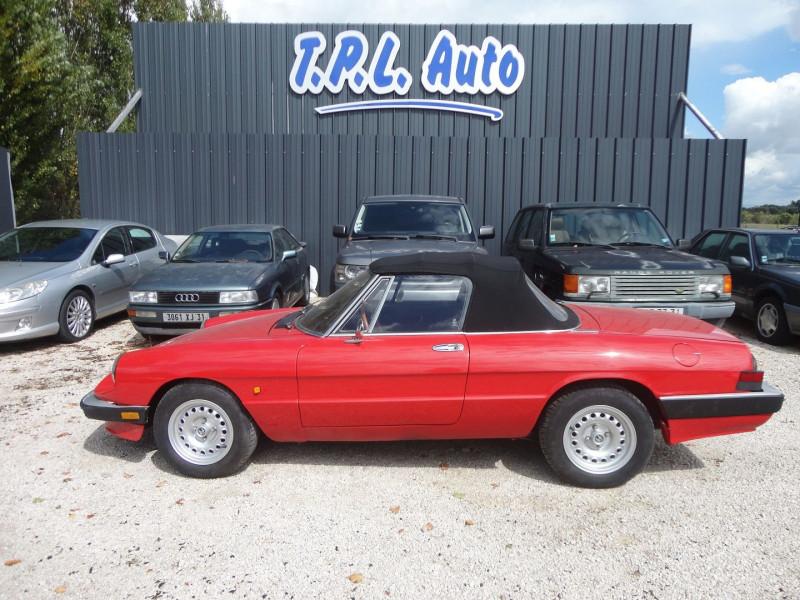 Alfa Romeo SPIDER 2.0 I CAB Essence ROUGE Occasion à vendre
