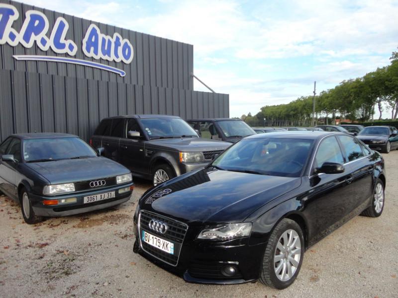 Audi A4 2.0 TDI 143CH DPF AMBITION LUXE Diesel NOIR Occasion à vendre