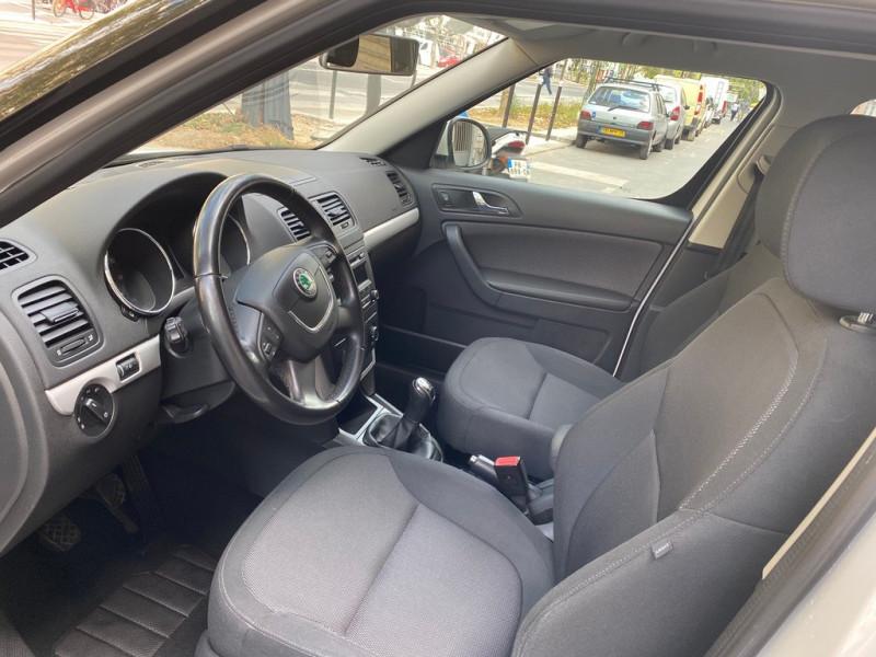 Photo 9 de l'offre de SKODA YETI 1.2 TSI AMBITION 4X2 à 8490€ chez Iptrans Auto Paris