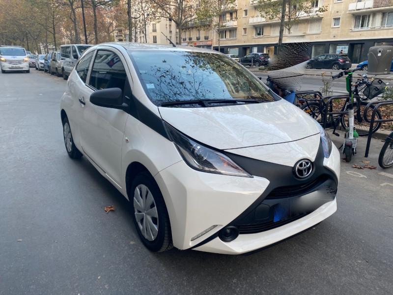 Photo 4 de l'offre de TOYOTA AYGO 1.0 VVT-I 69CH X 3P à 5990€ chez Iptrans Auto Paris