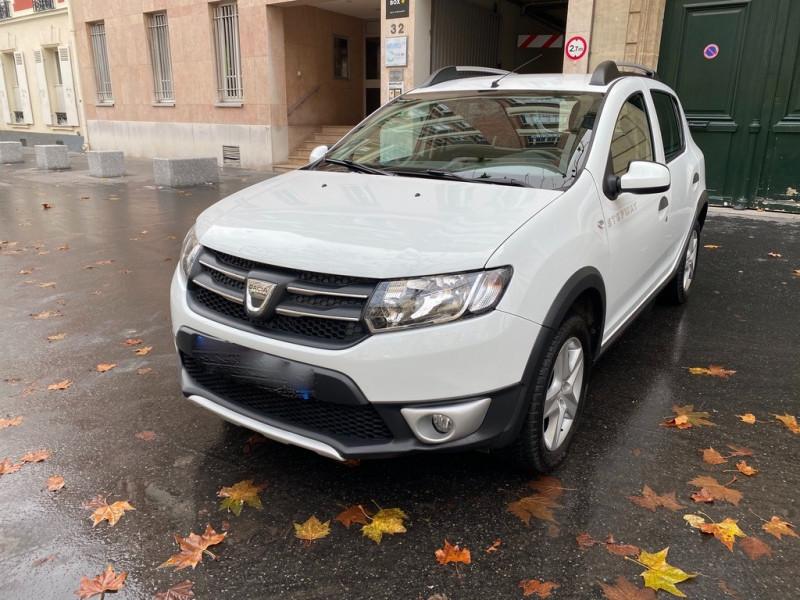 Dacia SANDERO 1.5 DCI 90CH STEPWAY Diesel BLANC Occasion à vendre