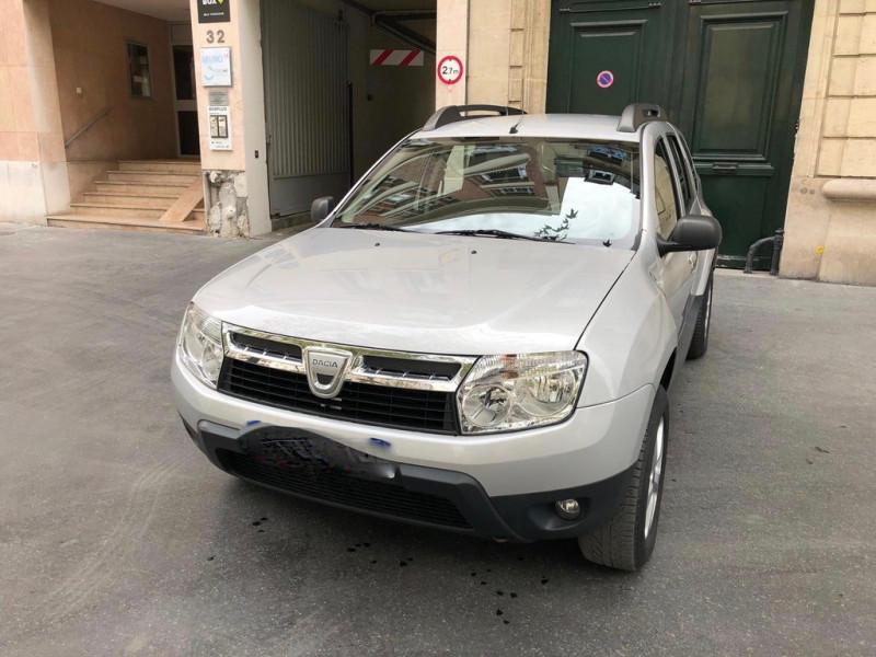 Dacia DUSTER 1.6 16V 105CH  LAUREATE 4X2 Essence GRIS Occasion à vendre