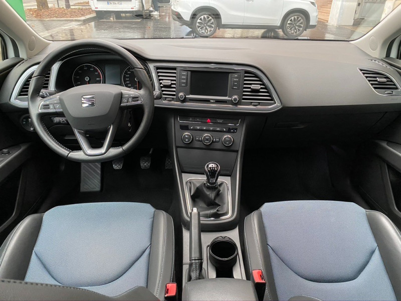 Photo 10 de l'offre de SEAT LEON 1.2 TSI 110CH I-TECH START&STOP à 10990€ chez Iptrans Auto Paris