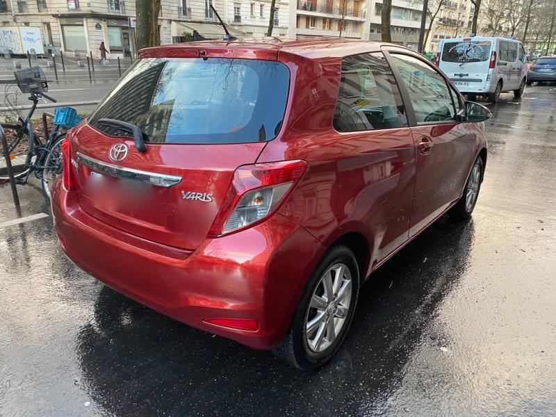 Photo 4 de l'offre de TOYOTA YARIS 69 VVT-I DYNAMIC 3P à 6990€ chez Iptrans Auto Paris