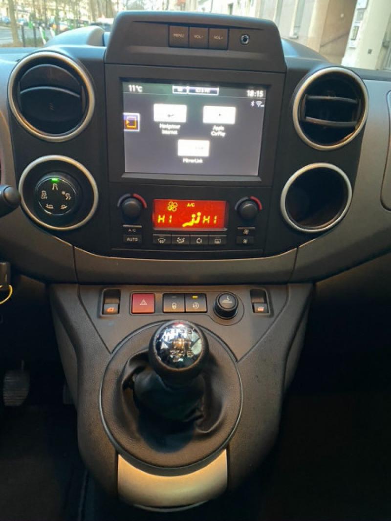 Photo 10 de l'offre de CITROEN BERLINGO BLUEHDI 120CH XTR S&S à 13490€ chez Iptrans Auto Paris