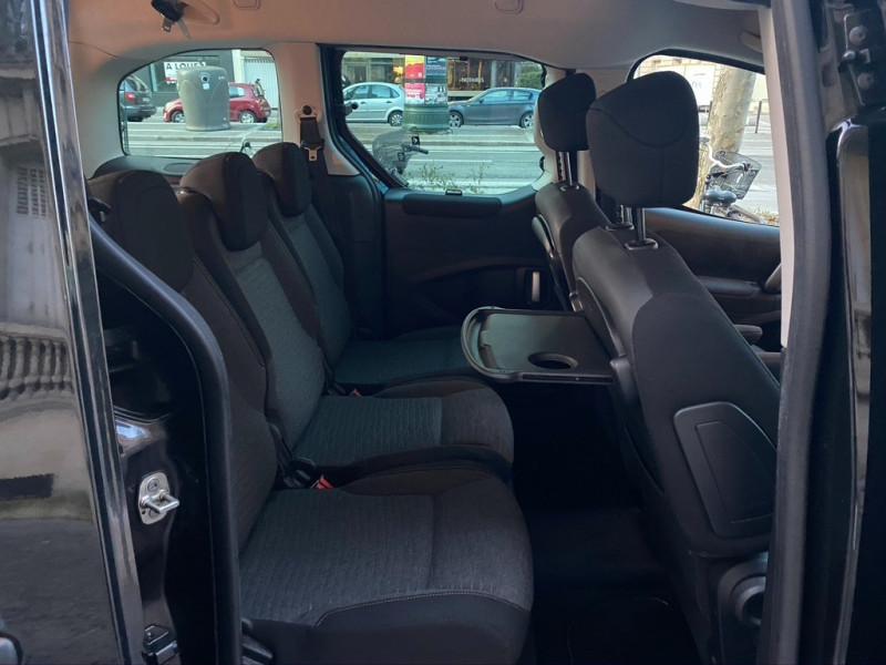 Photo 15 de l'offre de CITROEN BERLINGO BLUEHDI 120CH XTR S&S à 13490€ chez Iptrans Auto Paris