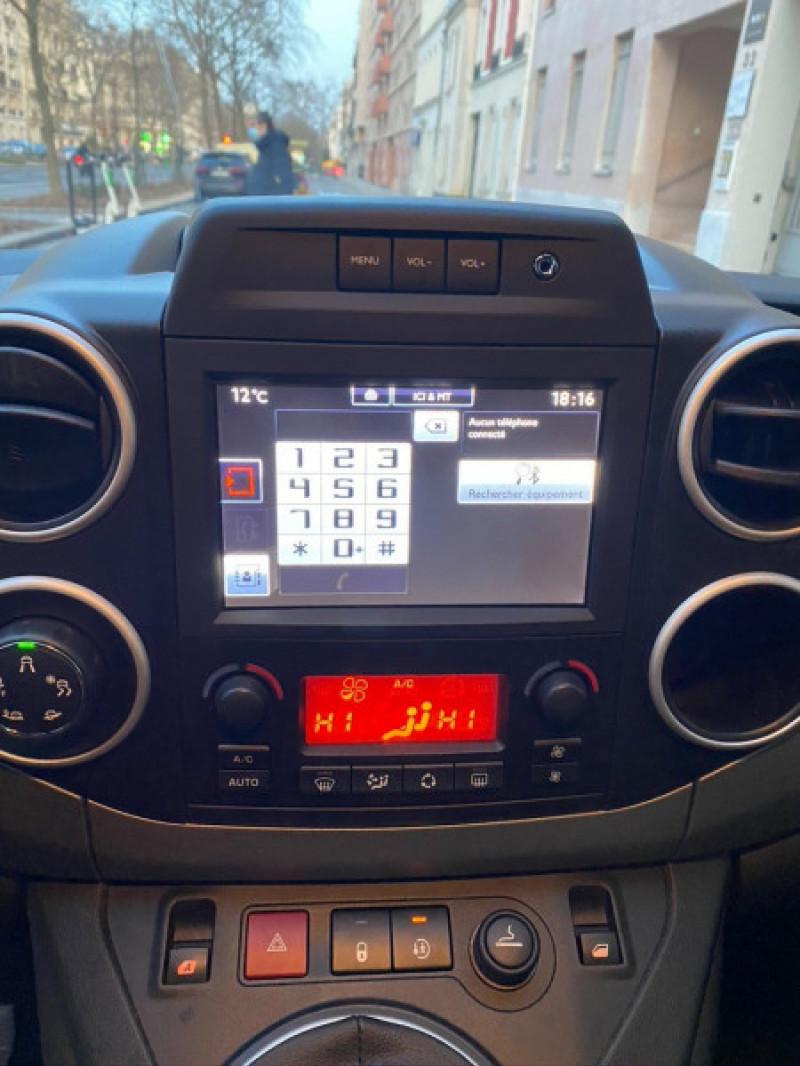 Photo 12 de l'offre de CITROEN BERLINGO BLUEHDI 120CH XTR S&S à 13490€ chez Iptrans Auto Paris