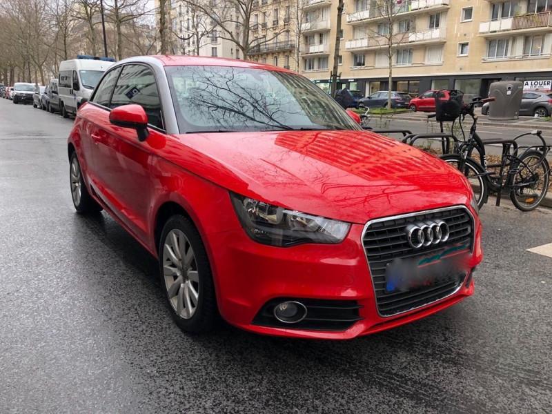 Audi A1 1.2 TFSI 85CH ATTRACTION Essence ROUGE Occasion à vendre