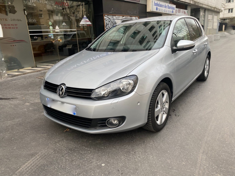 Volkswagen GOLF VI 1.2 L 105 CV TEAM Essence GRIS Occasion à vendre