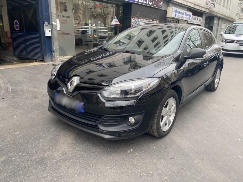 Renault MEGANE III 1.2L 110CV AUTHENTIQUE Essence NOIR Occasion à vendre
