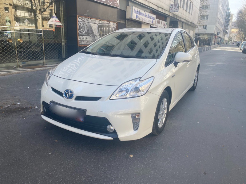 Toyota PRIUS 136H DYNAMIC 17  Hybride BLANC Occasion à vendre