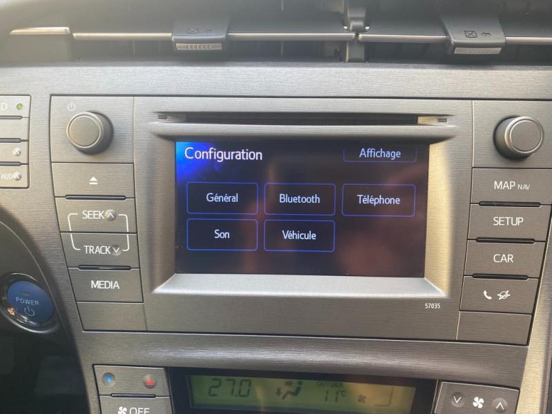 Photo 10 de l'offre de TOYOTA PRIUS 136H DYNAMIC 17  à 12490€ chez Iptrans Auto Paris
