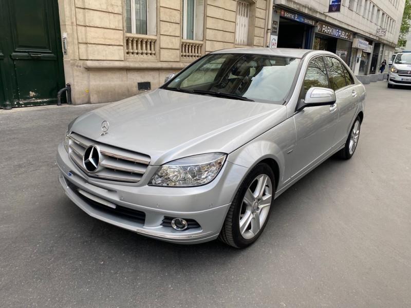 Mercedes-Benz CLASSE C (W204) 180K ELEGANCE Essence GRIS Occasion à vendre
