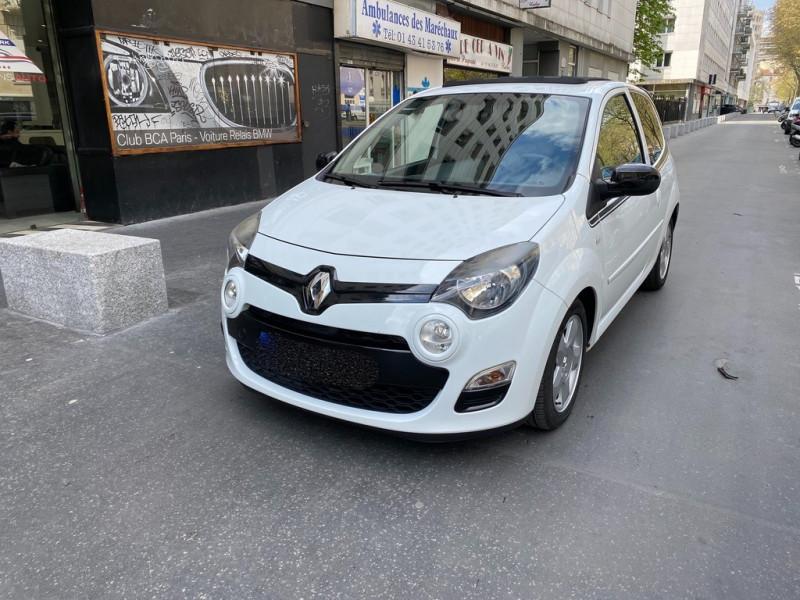 Renault TWINGO II 1.2 LEV 16V 75CH DYNAMIQUE ECO² Essence BLANC Occasion à vendre