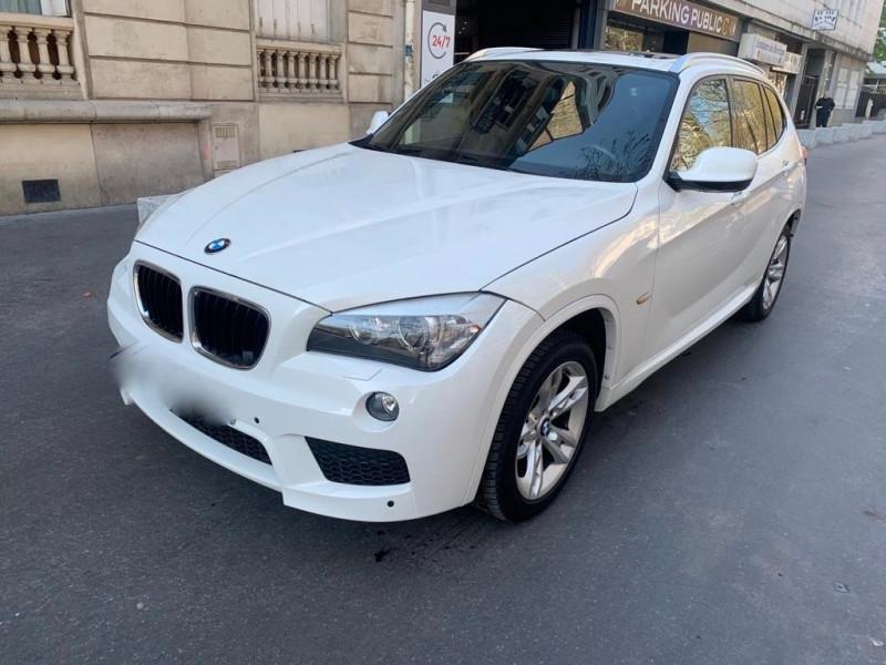 Bmw X1 (E84) XDRIVE20DA 177CH PACK M Diesel BLANC Occasion à vendre
