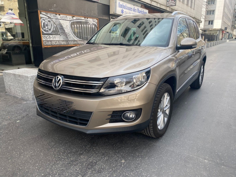 Volkswagen TIGUAN 1.4 TSI 122CH BLUEMOTION TECHNOLOGY Essence MARRON Occasion à vendre