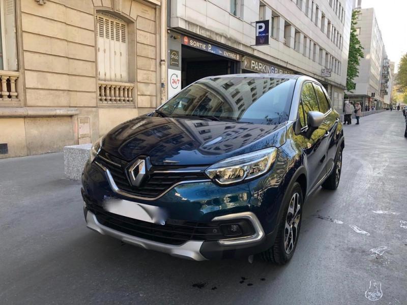 Renault CAPTUR 1.5 DCI 90CH ENERGY BUSINESS EDC Diesel BLEU F Occasion à vendre