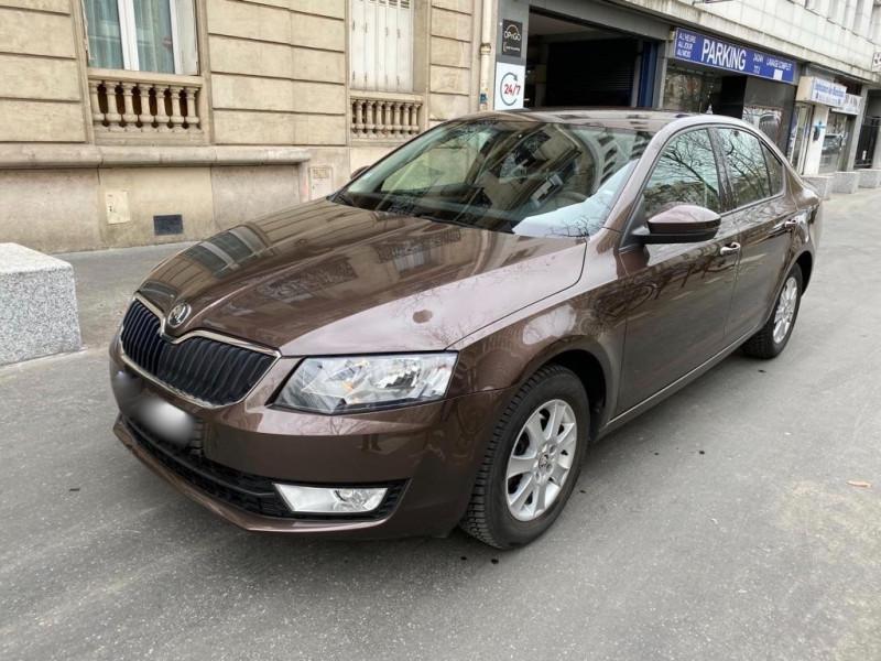 Skoda OCTAVIA 1.6 TDI105 CR FAP AMBITION 2 DSG Diesel MARRON Occasion à vendre