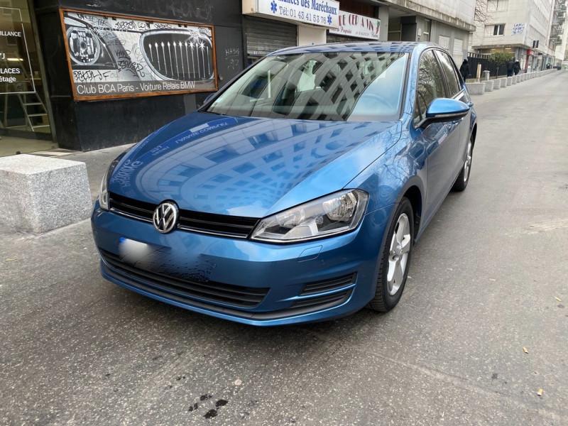 Volkswagen GOLF VII 1.2 TSI 110CH BLUEMOTION TECHNOLOGY TRENDLINE 5P Essence BLEU Occasion à vendre