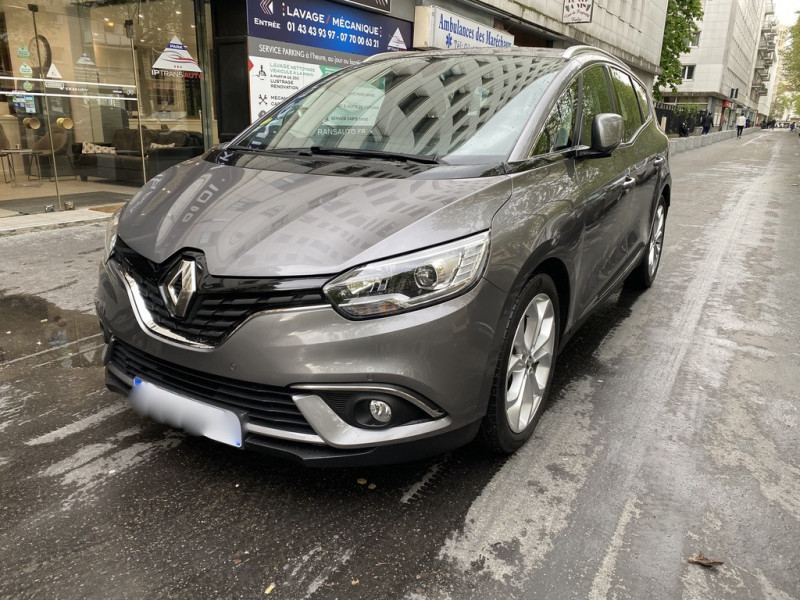 Renault GRAND SCENIC IV 1.6 DCI 130CH ENERGY BUSINESS INTENS 7 PLACES Diesel GRIS Occasion à vendre
